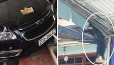 Ô tô tông người đi xe máy văng lên mái nhà, 2 bố con tử vong: Tài xế đã ra trình diện