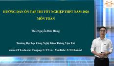 Hướng dẫn ôn tập thi THPT môn Toán: Chuyên đề Tích phân (phần I)