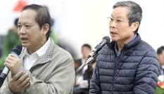 Cựu Bộ trưởng Nguyễn Bắc Son, Trương Minh Tuấn nói lời sau cùng