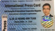 Lãnh đạo Học viện BC&TT nói về 'nhà báo quốc tế' Lê Hoàng Anh Tuấn