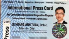 Xóa tên Lê Hoàng Anh Tuấn khỏi danh sách hội viên Hội Nhà báo