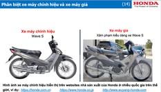 Quảng Ninh đứng đầu về nạn buôn bán phụ tùng xe máy nhái, giả