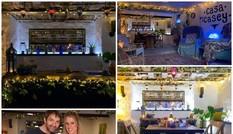 Cặp đôi tranh thủ thời gian cách ly, tự biến nhà xe thành một nhà hàng tuyệt đẹp