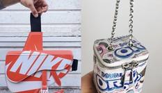 Thiết kế túi cao cấp từ hộp giày, cặp đôi Italy lan tỏa thông điệp bảo vệ môi trường
