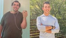 """Chàng trai New ZeaLand """"lột xác"""" thành mỹ nam phòng gym nhờ giảm 94kg"""