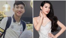 """Thực hư """"nghi án hẹn hò"""" của Văn Hậu với thí sinh """"cực phẩm"""" Hoa hậu Việt Nam 2020"""
