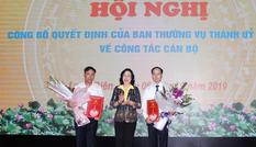Hà Nội: Phó trưởng Ban Tổ chức Thành uỷ làm Phó Bí thư quận Long Biên