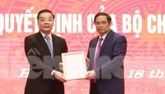 Ông Chu Ngọc Anh nói gì khi nhận quyết định làm Phó Bí thư Thành ủy Hà Nội?