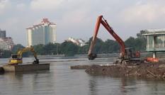 Hà Nội dừng dự án nạo vét bùn Hồ Tây