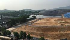 Hà Nội thi công xuyên ngày đêm các ô chôn lấp rác thải ở Sóc Sơn
