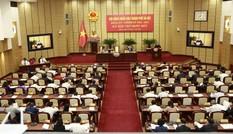 HĐND Hà Nội họp kiện toàn công tác nhân sự