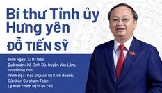 Chân dung Bí thư Tỉnh ủy Hưng Yên Đỗ Tiến Sỹ