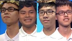 Hành trình nổi bật của 4 ứng viên vô địch chung kết năm Olympia năm thứ 19