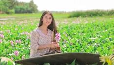 Nữ sinh xứ Nghệ 'đốn tim' với hình ảnh thôn nữ