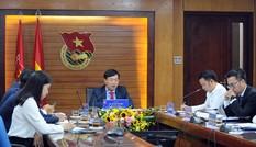 Điện đàm lãnh đạo cấp cao cơ quan thanh niên Việt - Nga