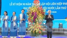 Kỷ niệm 90 năm thành lập Hội LHPN Việt Nam và đại hội thi đua yêu nước