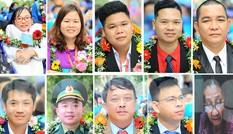 Chân dung 10 cá nhân nhận Giải thưởng Tình nguyện Quốc gia 2020