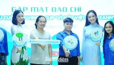 """Hoa hậu Ngọc Hân cùng các bạn trẻ hưởng ứng """"Vì một Việt Nam xanh"""""""