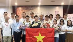 Tuyển Olympic Hoá học Việt Nam giành 4 Huy chương Vàng quốc tế