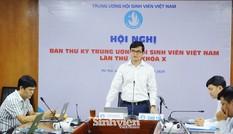 Hội nghị Ban Thư ký T.Ư Hội Sinh viên Việt Nam theo phương thức trực tuyến