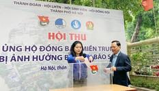 Tuổi trẻ Thủ đô ủng hộ nguồn lực, hỗ trợ đồng bào miền Trung