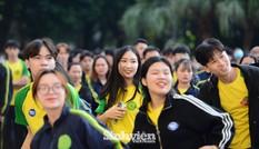 Gần 20.000 sinh viên tham gia giải chạy ủng hộ đồng bào miền Trung