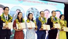 Bình chọn trực tuyến Giải thưởng Khoa học công nghệ Thanh niên Quả Cầu Vàng