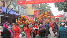 Lễ hội đường phố ở biên giới