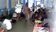 Mỗi ngày mười nghìn lượt trẻ đi khám bệnh vì nắng nóng