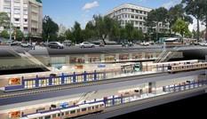 Động thổ xây dựng  tuyến tàu điện ngầm số 1