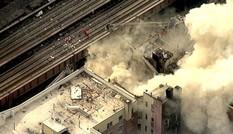 VIDEO: Hai tòa nhà đổ nát sau vụ nổ ở New York