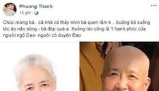 Đầu bếp Nguyễn Doãn Cẩm Vân nổi tiếng trên truyền hình xuất gia