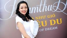 Phạm Thu Hà diện váy trắng muốt ra mắt album mới