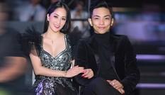 Khánh Thi khoe vòng 1 nóng bỏng, sánh vai ông xã Phan Hiển đi xem thời trang