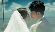 Á hậu Thúy Vân tung bộ ảnh cưới đẹp lung linh được chụp tại toà nhà cao nhất Việt Nam