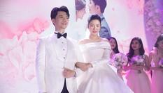 Thuý Vân bất ngờ thông báo đang mang bầu, còn tiết lộ giới tính thai nhi ngay trong hôn lễ