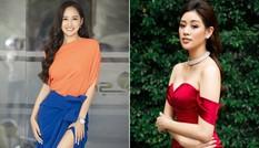 Mai Phương Thuý diện váy xẻ cao khoe chân 'cực phẩm', Khánh Vân trễ nải quyến rũ