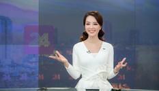 Á hậu Thụy Vân 'tái xuất' khán giả VTV, tiếp tục dẫn 'Chuyển động 24h'