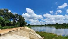 Cận cảnh dự án cải tạo hồ huyện có dấu hiệu lừa dối tỉnh