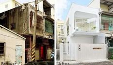 Ngôi nhà xập xệ 40 năm tuổi đẹp 'ngoạn mục' sau cải tạo