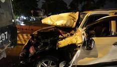TP HCM: Ôtô tông hàng loạt xe máy, nhiều người bị thương