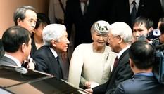 Nhà vua và Hoàng hậu Nhật Bản dự tiệc trà cùng Tổng Bí thư Nguyễn Phú Trọng
