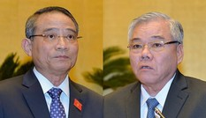 Quốc hội tiến hành phê chuẩn miễn nhiệm; bổ nhiệm 2 'Tư lệnh' ngành