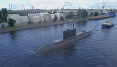 Tàu ngầm tấn công diesel-điện Kilo 636.3 ra biển thử nghiệm