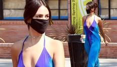 Mỹ nhân 'Fast & Furious' mặc mốt không nội y táo bạo
