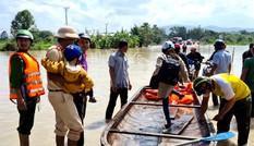 Sau bão số 12: Nhiều tuyến đường ở Gia Lai bị chia cắt, hối hả di dân