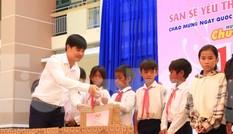 Báo Tiền Phong phối hợp trao tặng 10 máy lọc nước cho trường học vùng sâu Khánh Hoà