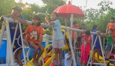 Tỉnh đoàn Khánh Hoà khánh thành khu vui chơi cho các em thiếu nhi xã đảo
