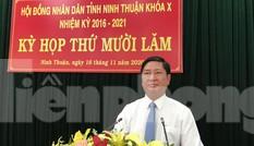 Ông Trần Quốc Nam được bầu làm Chủ tịch tỉnh Ninh Thuận