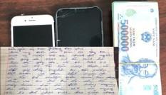 Tên cướp bí ẩn trả lại 100 triệu đồng cùng 'tâm thư' xin lỗi